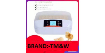 TM&W Best with Automatic 32 Digital Clear Egg Incubator Hatcher, 80W Egg
