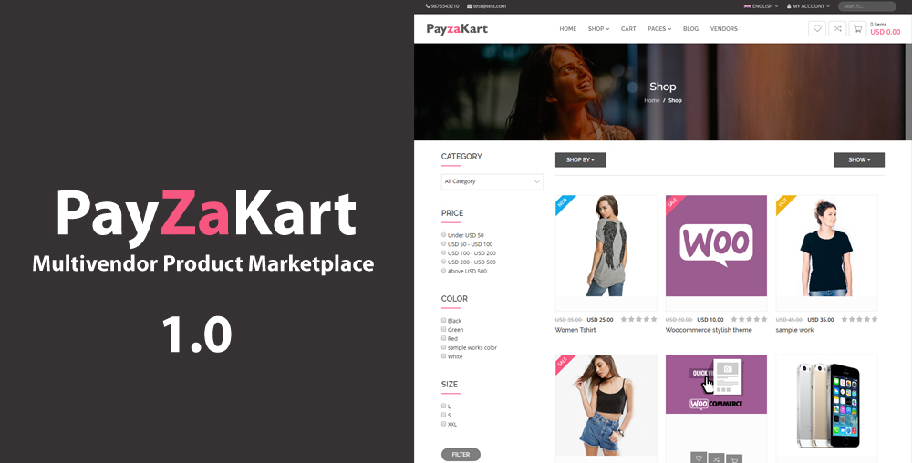 PayzaKart Multivendor Product Marketplace